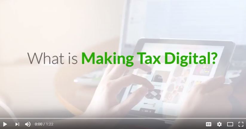 What is Making Tax Digital video screenshot