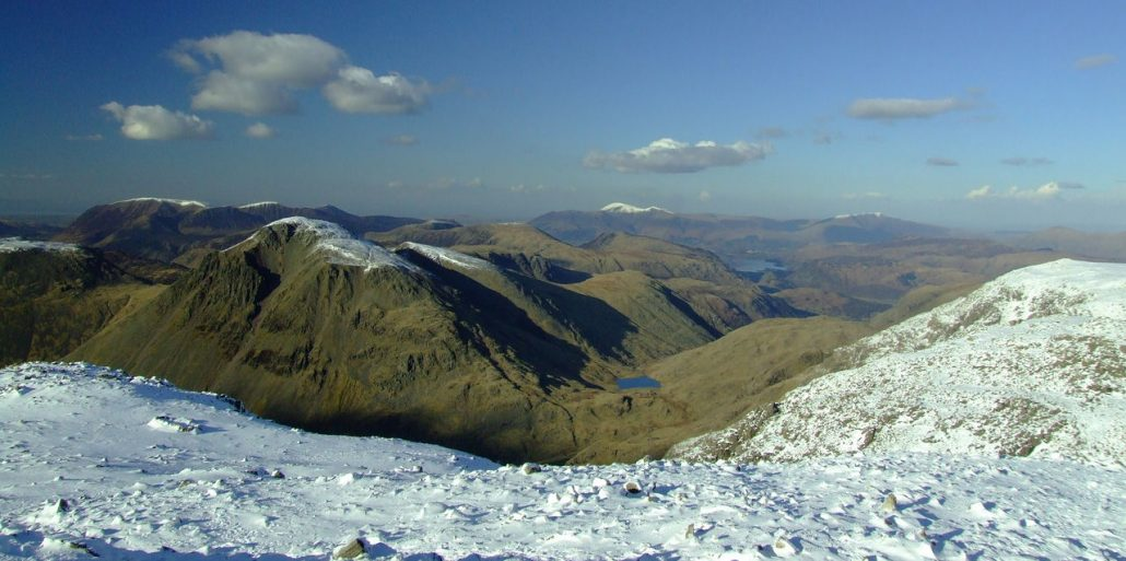Scafell Pike - 3 Peaks Challenge for 10-year anniversary